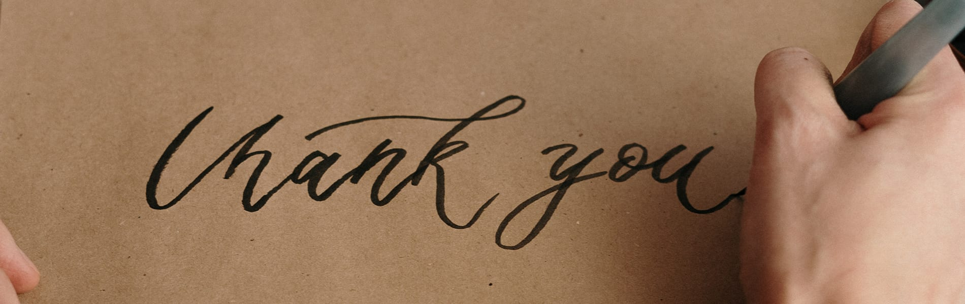 Creative ways to thank your donor