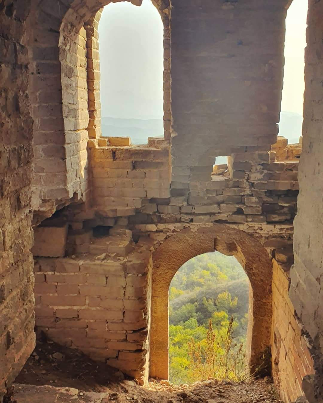 Ruins of the Great Wall of China. Alexia's story